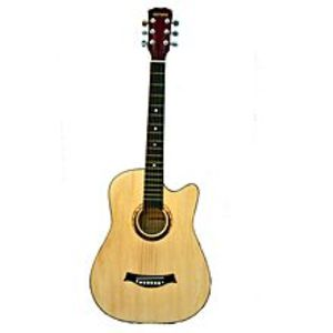 Victoria Victoria Semi Acoustic Guitar 39'' with 4 band EQ- Beige