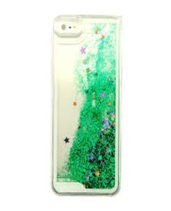 For Samsung J5 2016 Moving Glitter Green Mobile Cover