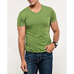 DenizenGreen Cotton T-Shirt for Men