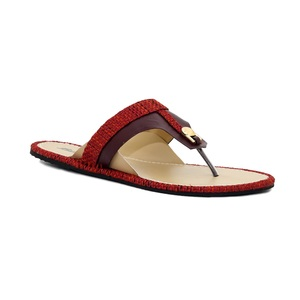 Bata Women Summer Collection 2020 Red Synthetic  Sandal  561-5610-36
