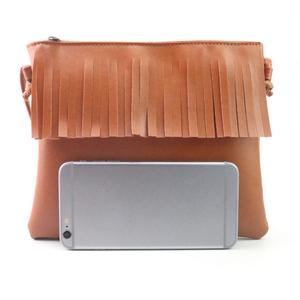 Women Fashion Tassel Handbag Shoulder Bag Small Tote Ladies Purse