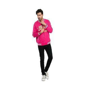 Super Shopping Pink Varsity Sunshine Jacket