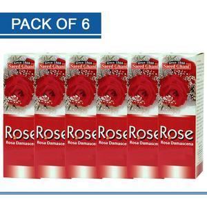 Pack of Six - Rose Face Freshener Spray (120 ml)