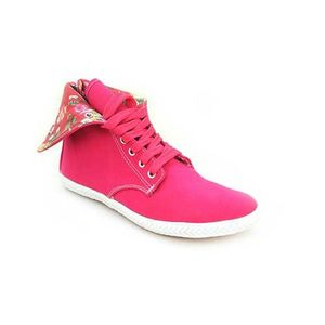 North Star Red Casual Synthetic Tomy Takkies Shoes for Women