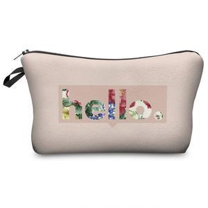Zipper Design Makeup Bag Women Cosmetic Bags Organizer Box Ladies Handbag