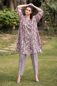 SITARA STUDIO Sapna Collection 2019 Multicolor Lawn 2PC Unstitched Suit For Women - 6107 B  (Un-stitched)
