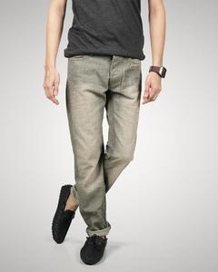 Grey Denim Jeans For Men - YDJ-GY-32