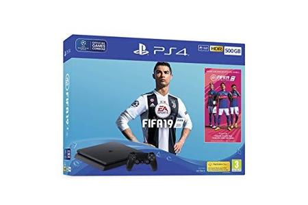 PS4 500GB with FIFA 19