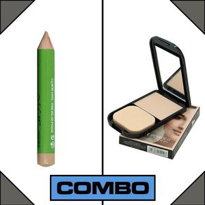 Combo of MNew Face Foundation Base + Concealer Stick Pencil