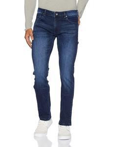 Faded Blue Slim Fit Jeans For Men