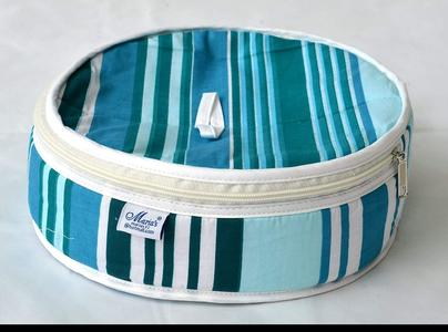 Round Roti Basket With Zipper