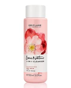 Love Nature 2-in-1 Cleanser - Wild Rose