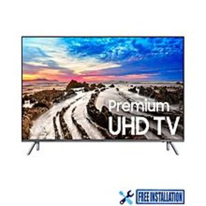 "Samsung MU8000 - Premium 4K UHD LED TV - 82"" - With Free MU7000 - 4K UHD LED TV - 43"""