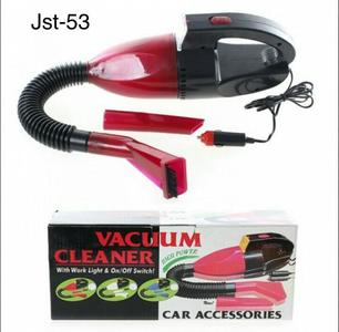 Portable Car Vacuum Cleaner - Black & Red