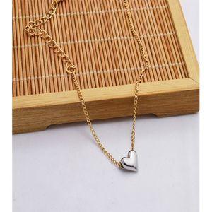 Rhizmall Golden Alloy Silver Heart Anklet for Women