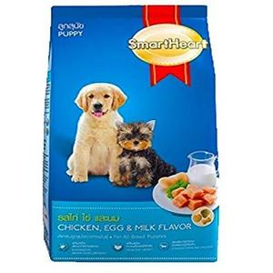Smart Heart Chicken, Egg & Milk Flavour Puppy Food 3 KG  - IMPORTED FROM THAILAND