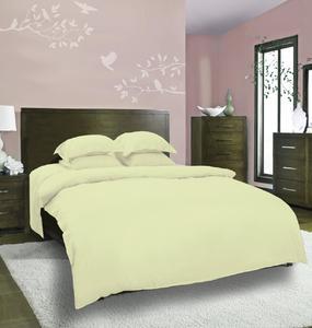 Plain Dyed Bedsheet - Light Green - Single