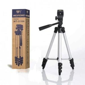 3110 - Tripod Stand with Holder For Camera and Mobile