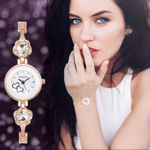 Watch Bracelet Wrist Quartz Women Fashion Analog Dial Ceramic Stainless Steel WH