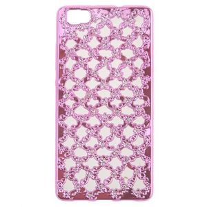 Fancy Back Cover For Huawei P8 Lite - Pink