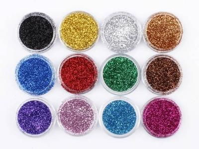 pack of 12 etude eye glitter