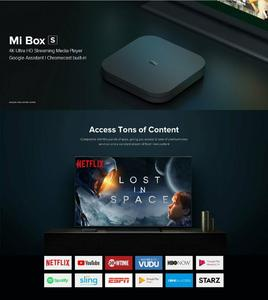 Computer Xone |Xiaomi Mi 4C TV Box 4K HDR TV Box Media Player Receiver 8.1 Ultra HD 8G Android | Black