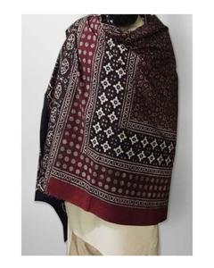 Rex Bazar - Multicolor Cotton Block Printed Sindhi Ajrak - SA-28-4