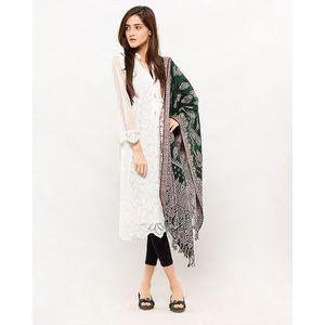 Green Pashmina Shawl For Women