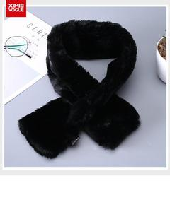 Winter Protection New Fashion Fluffy Soft Neck Scarf/Scarve/Muffler for Women- Size:10x80cm