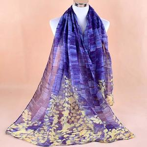 Women Printed Soft Voile Shawl Wrap Wraps Scarf Scarves