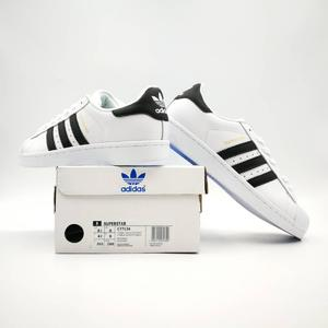 Superstar Foundation, Fashion shoes, Running shoes, Balck/white