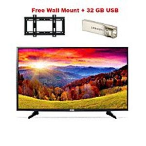 "Icon Mart ICON 32 "" LED Full HD LED TV With free Wall Mount and 32 GB USB"