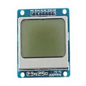 ArduinoNokia 5110 Lcd Screen White Backlight Module