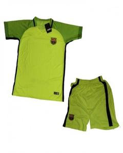 Green Polyester FCB Club Football Kit