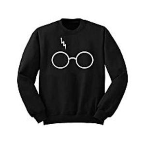 Aybeez Black Sweat Shirt Glasses Style for women