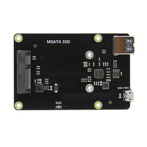 Vodool X850 mSATA SSD USB 3.0 Hard Disk Storage Expansion Board for Raspberry Pi