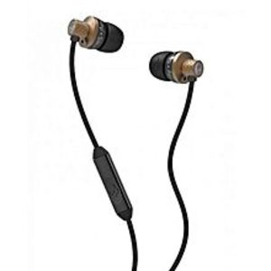 SkullcandyS2TTDY-214 - Titan Earphones with Mic - Copper and Black