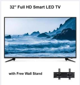 Global - Smart LED Tv - 32inches - FULL HD  - Black