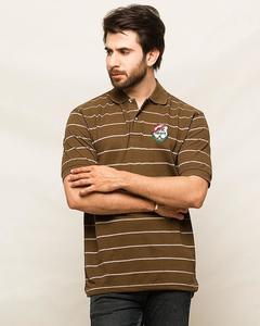 Oxford Cotton Polo T-Shirt For Men