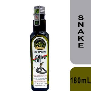 Dr.Hakem Hair Oil with Olive and Snake 180mL