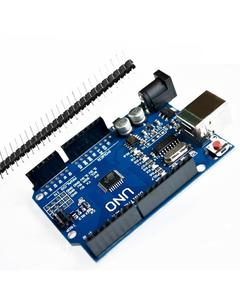 Uno R3 Smd Without Usb Cable - Blue