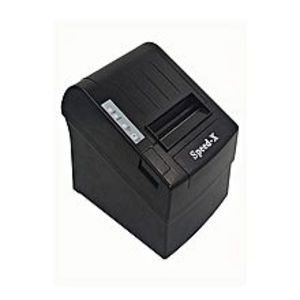 speed-x 200 Thermal Receipt Printer Usb+Rs232 - Black