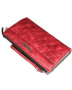 Red Sa11 Lady Wallet Card Holder Handbag For Women