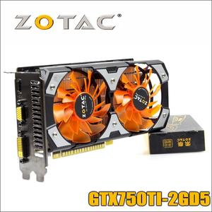 ZOTAC NVIDIA GeForce GTX 750 Ti 2 GB 128 Bits Gaming Graphic Card For professional gamersac