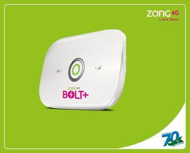 Zong 4G Bolt+All Network Sim Sport