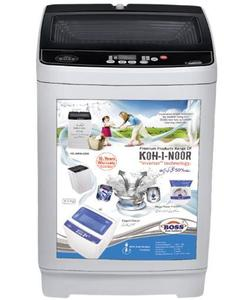 K.E-AWT-9200 - Automatic Washing Machine - Black