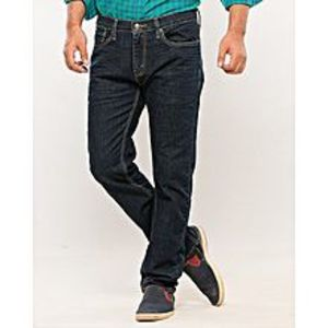 Denizen Dark Blue Cotton Jeans
