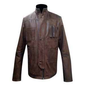 Mens Brown Leather Jacket High Quality