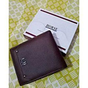 Imperial HorseMaroon Leather Wallet for Men