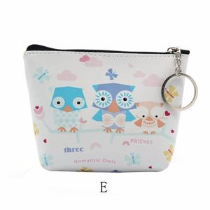 Women Girls Lady Leather Small Wallet Coin Purse Clutch Bag E